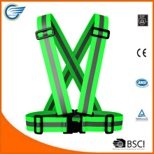 Amazon Hot Selling High Visibility Safety Reflective Vest Running Vest