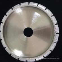 diamant brasé meule de profil pour façonner la pierre de marbre