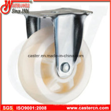 4 Inch Medium Duty Fixedl White PP Caster