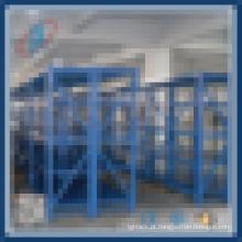 4 níveis armazém de armazenamento médio prateleiras prateleiras