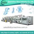 Servo Control Health Care Ultra Thin Sanitary Towels Making Machine