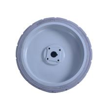 Pneu de levage de plate-forme de pneu solide d'assemblage de jante 15x5