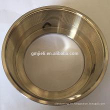 De acero inoxidable de fundición de pulido tubo de conexión de pulido