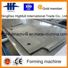 Ehemalige Stahl-, Anodenplatten-Walzenformmaschine mit rostfreiem Material
