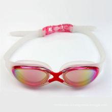 Мода красочные Силиконовой резины плавать очки с RoHS сертификации