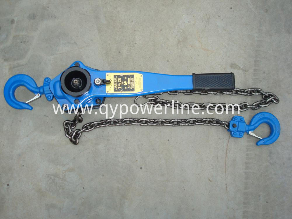Hand Operated Lever Chain Hoist