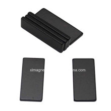 Industria Black Epoxy recubierto sinterizado NdFeB Magnet