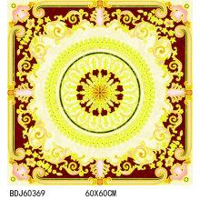 Schöne goldene glasierte Puzzle Fliese mit 1600X1600mm (BDJ60369)