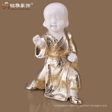 gift crafts cute design high quality little monk figure