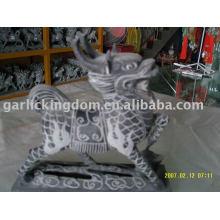 Kleine Kalkstein-Skulptur