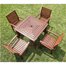 2014 Hot Sale High Quality WPC Park Tables and Chairs