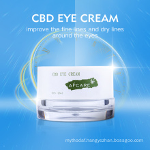 OEM Moisturizing Eye Bag Removal Anti Aging Under Eye Dark Circle Best Cbd Cannabidiol Eye Cream