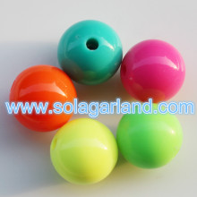 6-30MM Acrylic Round Chunky Bubblegum Beads Cheap Beads Online