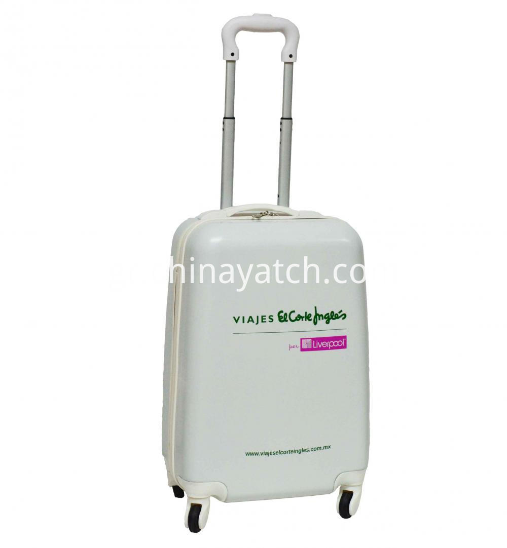 White Color ABS Luggage