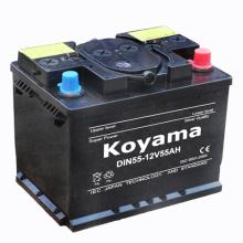 Batterie sèche norme DIN pour véhicule européen (5559) -12V55ah