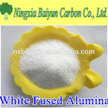 99% electrically melted white fused alumina granules factory
