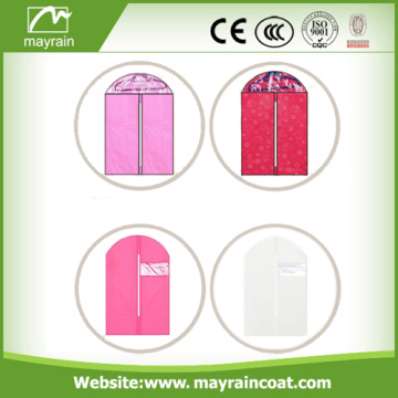 Custom Wholesale Foldable Non Woven Fabric Garment Cover