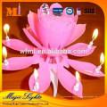 Populaire non dégoulinant cire non parfumée anniversaire bougies sparkler
