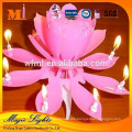 Popular no dripping wax unscented birthday sparkler candles