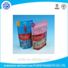 Sachet en plastique à fermeture à glissière