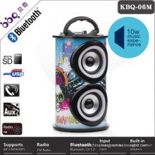 2017 Hot sales Alibaba Colorful modular wireless microphone mini waterproof bluetooth speaker