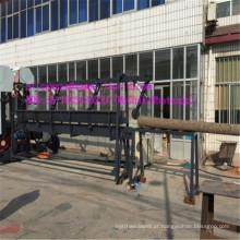 Máquina vertical de madeira da madeira serrada gêmea da faixa