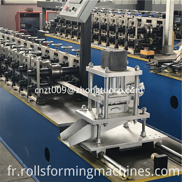 steel shutter door roll forming machine 07