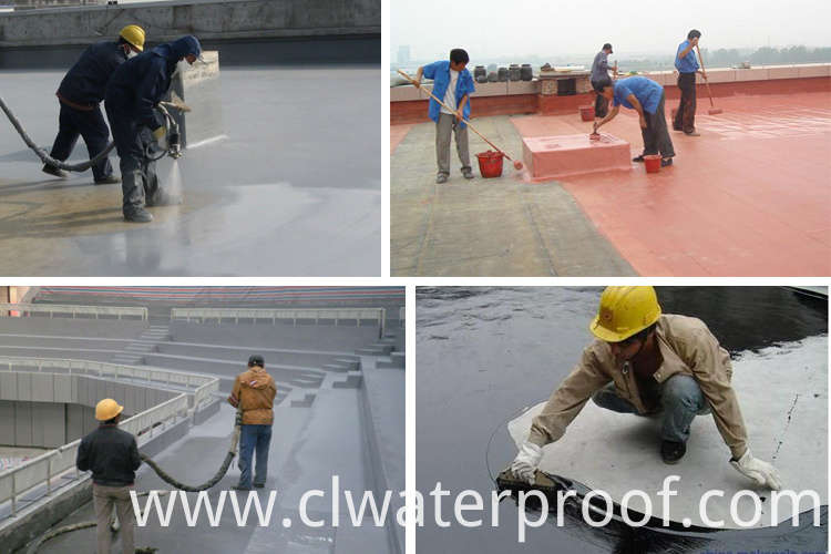 High quality Waterbase moisture cured polyurethane coating