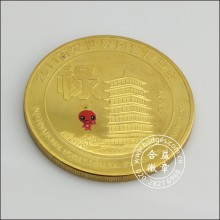 Gold Organizational Coin, Custom Coin for Souvenir (GZHY-BADGE-078)
