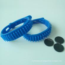 Pulseiras de silicone RFID à prova d'água para praia