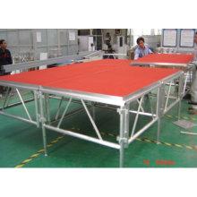 Xangai fornecedor moderno estágio treliça de alumínio ao ar livre treliça de palco ao ar livre em movimento estágio treliça de exposição