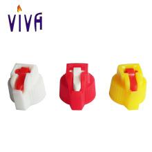 Kunststoffdeckel für leichtere Flüssigkeiten