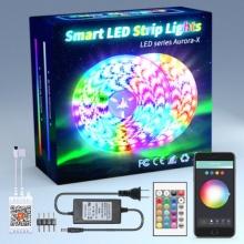 Fita LED inteligente 5050 Tuya Conjunto inteligente