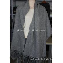 châles châles longs en pure laine