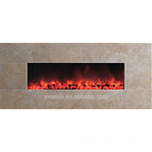 wall mounted style fireplace heater stone frame
