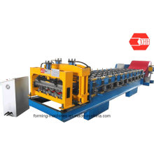 Colored Metal Glazed Tile Roofing Forming Machine (Yx38-210-840)