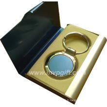 Fashion OEM / ODM Porte-clés en métal, porte-clés vierge (M-MK58)