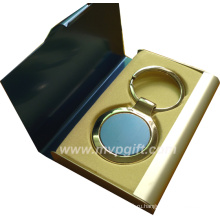 Мода OEM / ODM металлическая цепочка для ключей, пустая брелок (M-MK58)