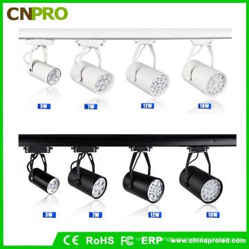 Nuevo estilo blanco y negro 18W LED Track Light
