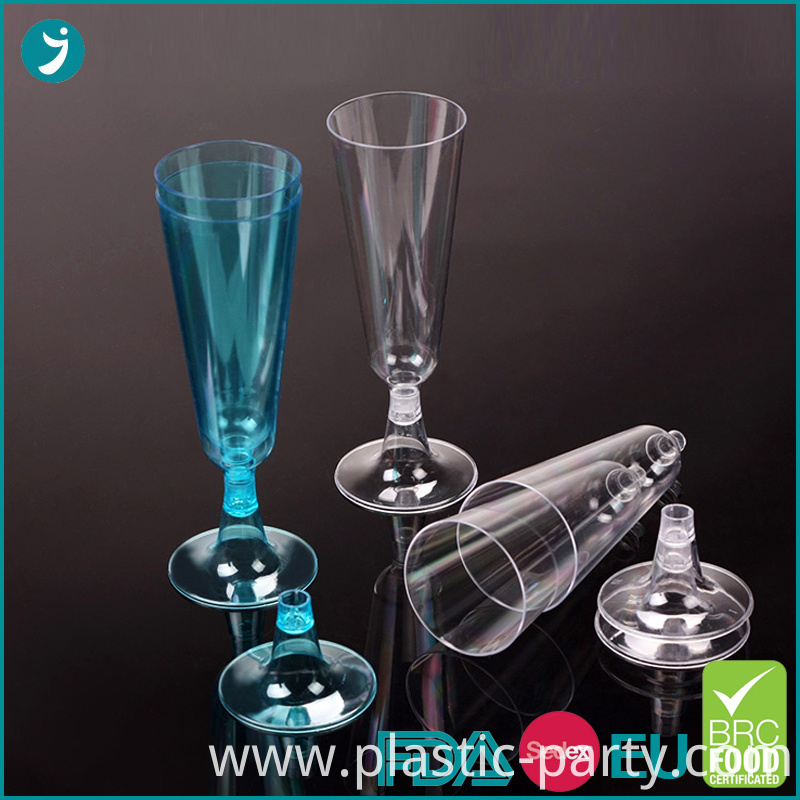 Disposable Plastic Champagne Flutes