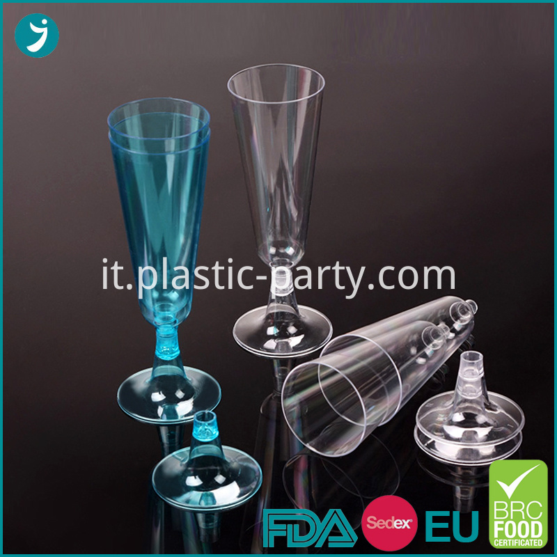Champagne Plastic Cup