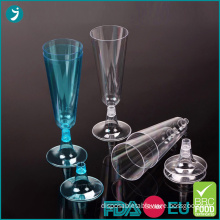 Disposable Plastic Champagne Flutes 5 oz for Party