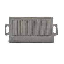 Retângulo Natural Lava Stone Barbecue Board com preço de fábrica