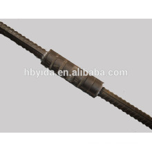 High efficient cold extrusion rebar coupler