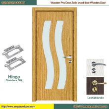 Security Door Automatic Door MDF Veneer Door