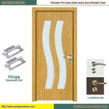Безопасности двери автоматические двери двери МДФ шпон