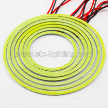 80mm 100mm 115mm 125mm LED Xenon White Halo SMD Angel Eye