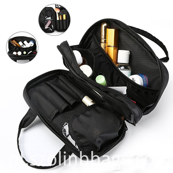 Black Cosmetic Bag