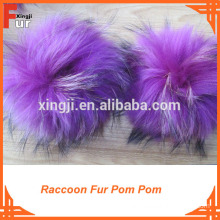 Woolen Hats wholesale fur pom poms