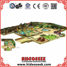 Large Indoor Amusement Park Playground Solution for Sale